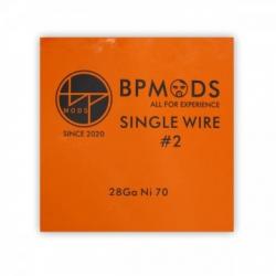 BP mods Single Wire #2 28Ga Ni70