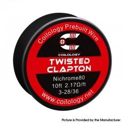 Twisted Spools Coilology Ni80 3x28-Ni80