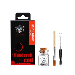 Demon Killer Handcraft coil Mini Alien 0.2ohm  0.3*3+0.13