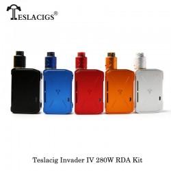 Kit Invader IV RDA VV 280W - Teslacigs (2X18650-20700-21700),