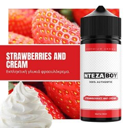 NTEZABOY Strawberries And Cream 25ml (120ml)