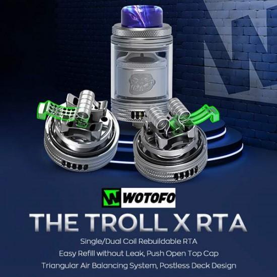 The Troll X RTA - Wotofo
