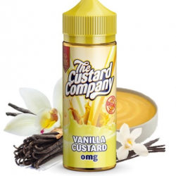 The Custard Company Vanilla Custard 120ML SHORTFILL