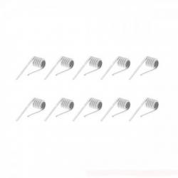 Fused Clapton Ni80 27GA* 2 + 40GA/ 0.26Ω (10 Pcs) - Vandy Vape
