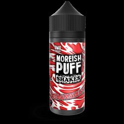 Strawberry By Moreish Puff Shakes 120ml Shortfill.