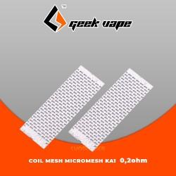 GEEK VAPE  Zeus X Mesh SHEETS Micromesh N80+ Cottons