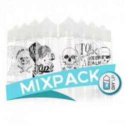 MIXPACK ( 10 ΤΕΜΑΧΙΑ) ARTWORK CHUBBY 120ML DIY UP