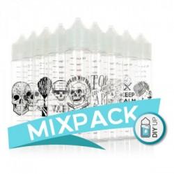 MIXPACK (10TEMAXIA) ARTWORK CHUBBY 70ML DIY UP