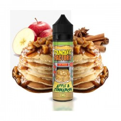 Apple & Cinnamon 60ml - Pancake Factory(50ml ΙΝ 60ml) shortfill.