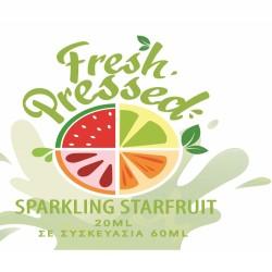 Fresh Pressed Sprakling Starfruit Flavour Shot 60ml